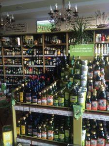 ассортимент магазина оливковых масел Оливия в Ярославле
